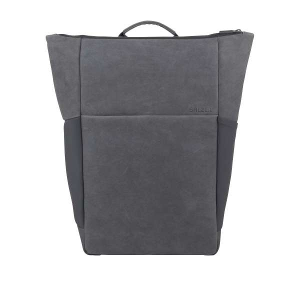 Plain Backpack Leather