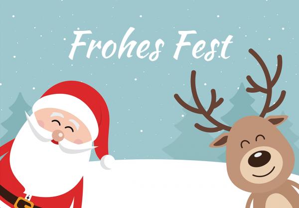 """Lieblingstasche.de Gutschein """"Frohes Fest"""""""